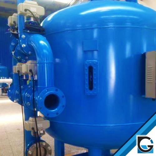 reservatórios para filtros de areia