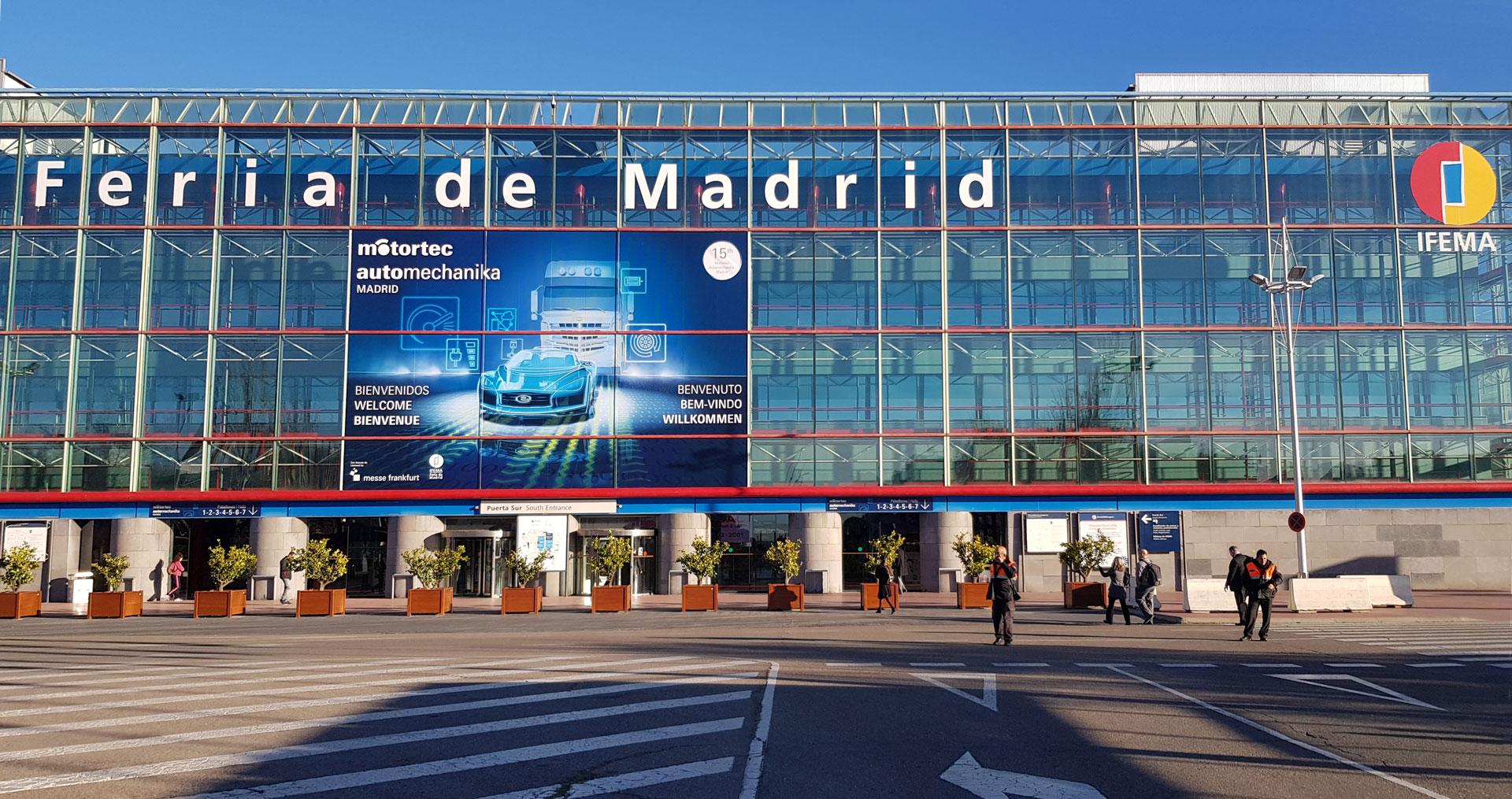 Estivemos presentes em mais uma edição da MOTORTEC – Automechanika Madrid, na IFEMA
